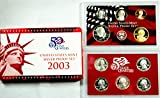 2003 united states mint proof set - 2003 S United States Silver Proof Set Proof