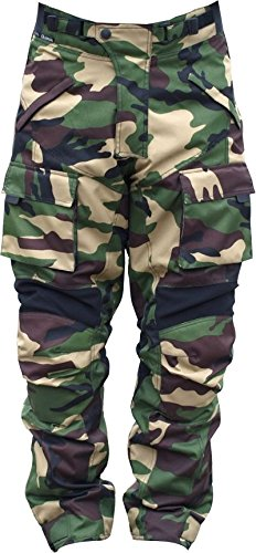 Ash men motorcycle pants textile cordura armoured Green SIZE 34 NEW YEAR - Bike Textile