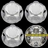 Set of 4 Ford 5 Lug Chrome Center Cap Wheel Cover Rim Hub Caps Small Middle Hubs