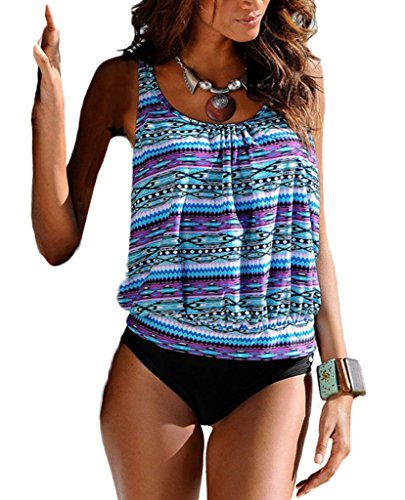 Blugibedramsh Printed Tankini Swimwear Swimsuit product image