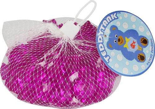 Teddy Tank Toy Accessories with Purple Acrylic Diamond Shaped Stones, 8.8-Ounce by Teddy Tank