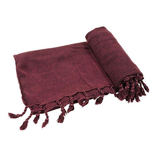 Mykonos Stonewashed Turkish Towel Beach Towel Bath Towel Peshtemal Fouta Travel Camping Sauna Pool Spa Hammam Yoga Gym Pilates Pareo Sarong Throw Picnic Blanket, 100% Cotton 31