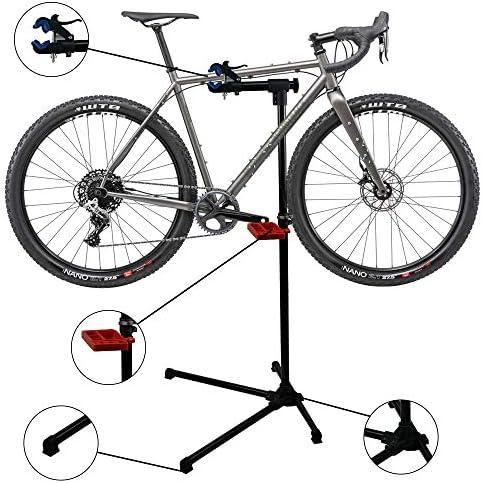 Adjustable Height Bike Repair Stand Bicycle Maintenance Rack Workstand Tool