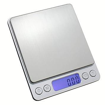 Grande LCD Digital Báscula de cocina Acero inoxidable Electro técnicos Báscula Digital de Precisión Digital Báscula profesional Diamante Industrial Alta ...