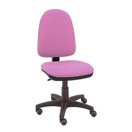 La Silla de Claudia - Silla giratoria de escritorio Torino rosa frambuesa para oficinas y hogares