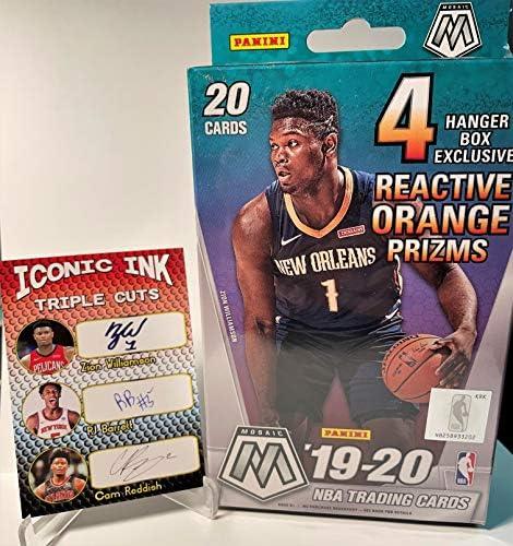 *NEW* 2019-20 Optic Basketball Mega Box SEALED Zion Williamson Ja Morant Rookie?