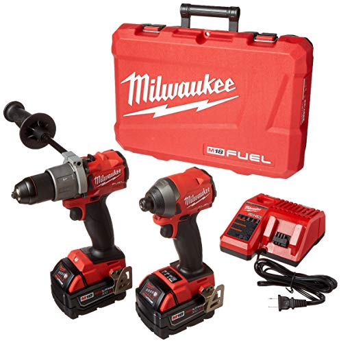 Milwaukee Electric Tools 2997-22 Hammer Drill/Impact Driver Kit (Milwaukee M18 Fuel Brushless Hammer Drill 2604 22)