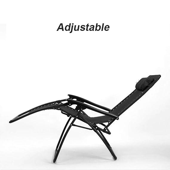 Amazon.com: Zero Gravity Sillas de jardín reclinables con ...