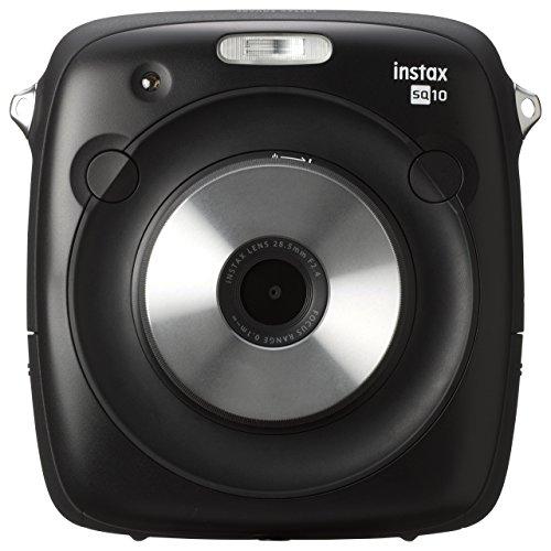 Fujifilm Instax Square SQ10 Hybrid Instant Camera – Black (Renewed)