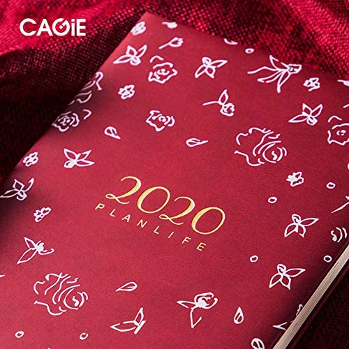 Schöner Notebook, Plan 2020 Kreatives Tagebuch