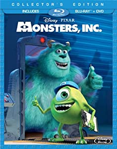 Cover Image for 'Monsters, Inc. (Three-Disc Collector's Edition: Blu-ray/DVD Combo in Blu-ray Packaging)'