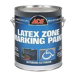 Latex Traffic Marking Paint Yellow Gallon