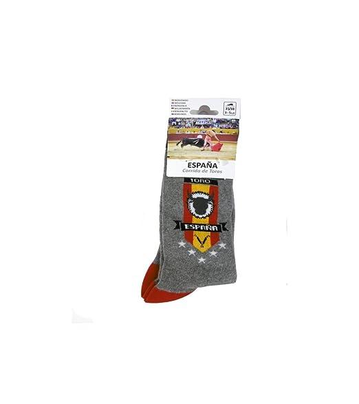 Calcetines divertidos (Adulto) - España, Talla pie 35-38: Amazon.es: Ropa y accesorios