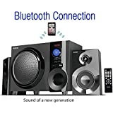 Boytone BT-210FB Wireless Bluetooth Stereo Audio Speaker with Powerful Sound, Bass System, Excellent Clear Sound & FM Radio, Remote Control, Aux-In Port, USB/SD/for Phones, La (Certified Refurbished)