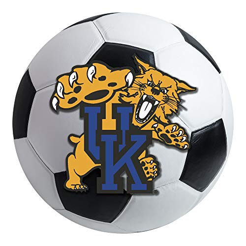 (FANMATS NCAA University of Kentucky Wildcats Nylon Face Soccer Ball)
