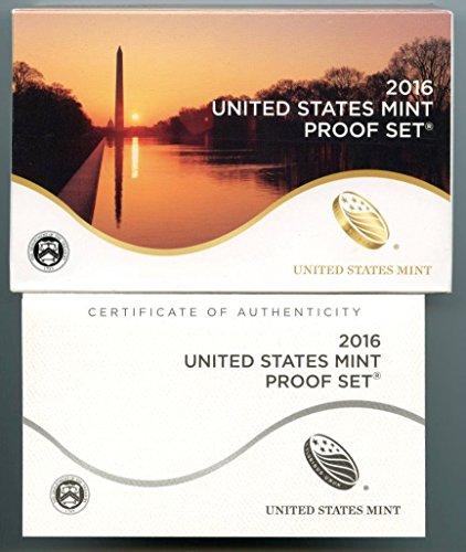 2016 US Mint Proof Set DCAM Proof OGP