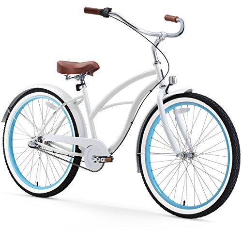 Sixthreezero Women S 3 Speed 26 Inch Beach Cruiser Bicycle Be
