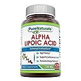 Pure Naturals Alpha Lipoic Acid 200 Mg 120 Capsules