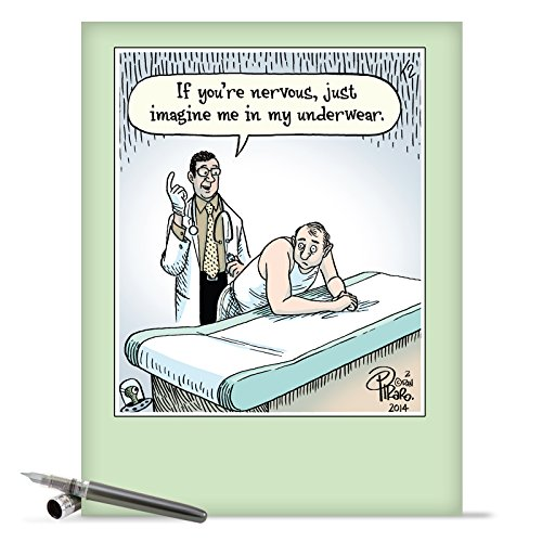 Funny get well card amazon j9771 jumbo funny get well card if youre nervous with envelope extra large version 85 x 11 m4hsunfo
