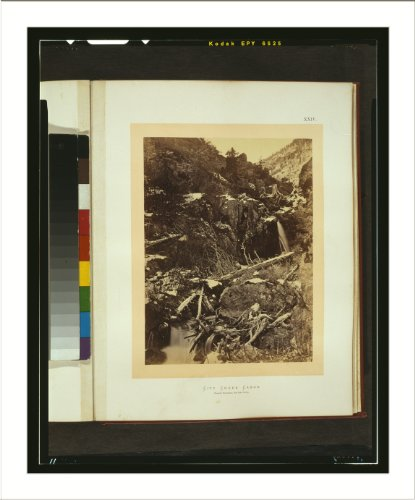 Historic Print (L): City Creek Cañon - Wasatch Mountains, Salt Lake - Lake City City Creek Salt