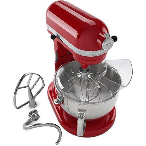 KitchenAid 6-Quart 10-Speed Empire Red Stand Mixer