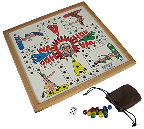 Traditional Game & Toy Company The Original Wa Hoo (Marble Game Board)