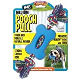 Pet Buddies Pooch Pull Toy w/ Multi-colored Cotton Rope (Medium), My Pet Supplies