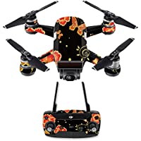 Skin for DJI Spark Mini Drone Combo - Flower Dream  MightySkins Protective, Durable, and Unique Vinyl Decal wrap cover   Easy To Apply, Remove, and Change Styles   Made in the USA