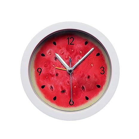 Reloj Despertador Digital LED de DOGZI, Reloj de Pared 3D, Reloj y Despertador,