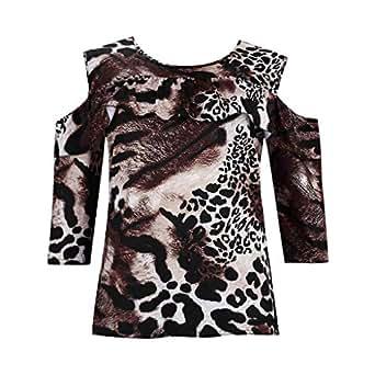 Amazon.com: MOSERIAN Womens Shirt Casual Off Shoulder ...