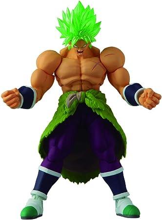 Figura de Super Saiyan Broly,13 cm de altura,Gran nivel de detalle,Figura articulada