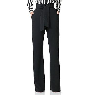 Wenyujh Femmes Pantalon Palazzo avec Bandage Élégant Jambe Large Taille  Haute Pantalon Lache Casual  Amazon.fr  Vêtements et accessoires 62593019581