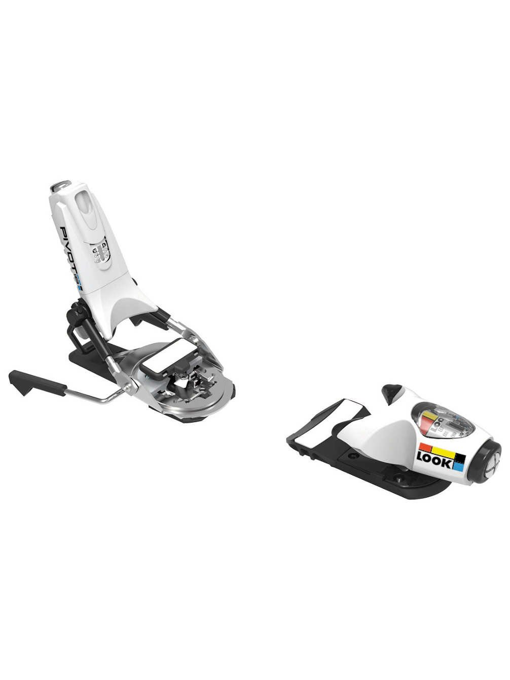 Look Pivot 18 Ski Binding White, 130mm by Look Bindings