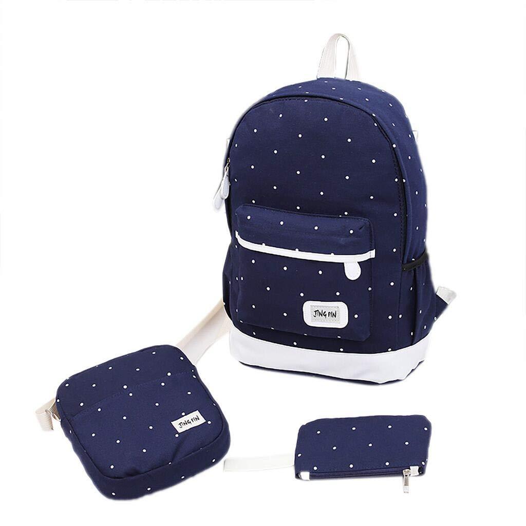 Tronet Travel Backpacks,Women's Backpack School Book Bags Satchel Shoulder Rucksack Canvas Travel Bag