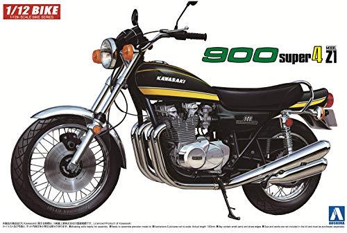 AOSHIMA 1/12 Motorcycle   Model Building Kits   No.12 Kawasaki 900 Super4 [ Japanese Import ]