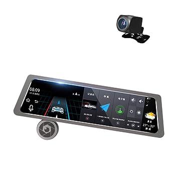 """Coche Dash CAM 4G 10"""" Full HD 1080P Control por Voz ADAS GPS Navegación Streaming"""