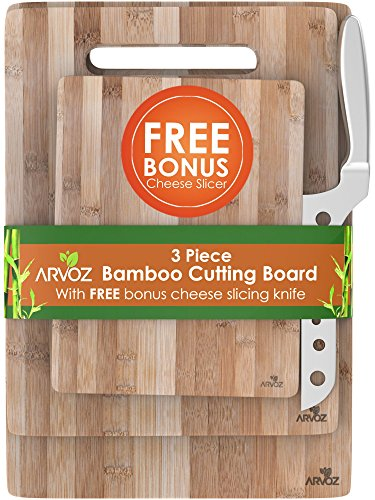 3 Piece Bamboo Cutting Board Set Made Fr - Classic Bamboo Cutting Board Shopping Results