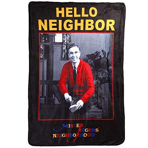 Classic Imports Mister Rogers Neighborhood Hello Fleece Blanket by Classic Imports