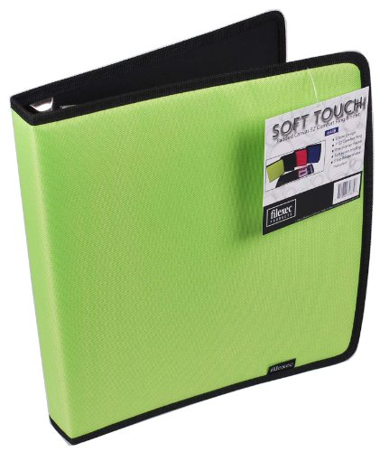 Filexec Soft Touch Padded Canvas EZ Comfort Ring Binder, 1