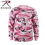 Rothco Long Sleeve T-Shirt/Pink Camo, Large