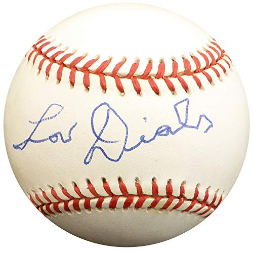 Lou Dials Signed Auto NL Baseball Negro Leagues - Beckett Authentic