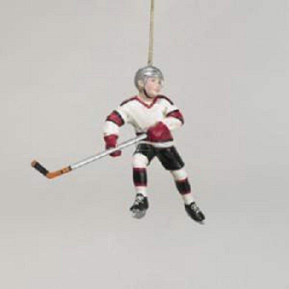 Amazon.com: Kurt Adler Hockey Player Christmas Ornament: Home & Kitchen