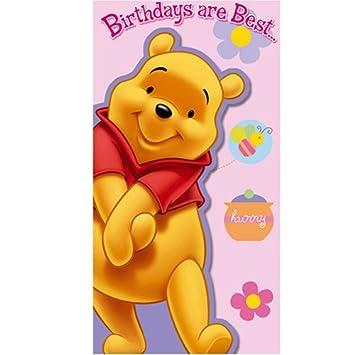 Disney Classics Winnie The Pooh Birthday Card Amazon Toys