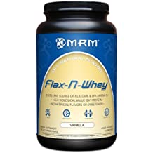 MRM 100% All Natural Flax-N-Whey, Natural Vanilla Flavor, 1.99-Pound