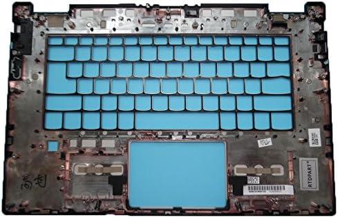 GAOCHENG Laptop PalmRest for Lenovo Yoga 720-15IKB UK Layout Keyboard Bezel Cover AM1YU000210 Fingerprint NO Touchpad