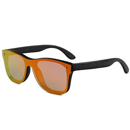 Sunglasses Gafas de Sol polarizadas de Madera de bambú ...