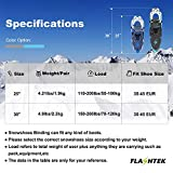 FLASHTEK 25/30 Inches Snowshoes for Men and Women