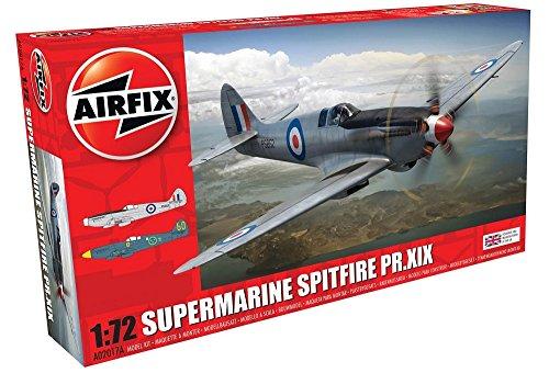 Airfix Raf Red Arrows Hawk Plastic Model Kit (44 Piece) (Hawk Red Arrows)