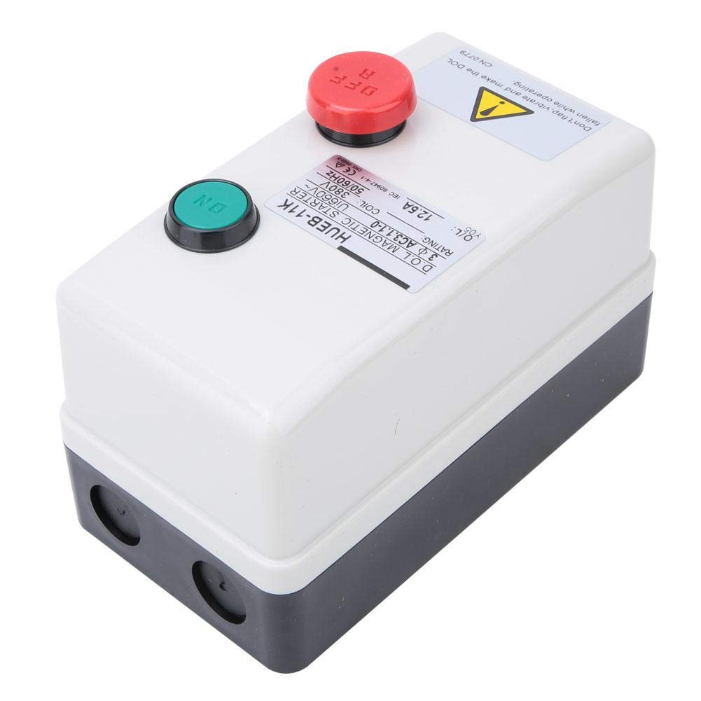 Liukouu D/émarreur magn/étique 380V 50 8.5-12.5A 60Hz de d/émarreur magn/étique de type /à d/émarrage direct manuel /à d/émarrage direct