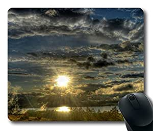 Into The Mist Cool Comfortable Gaming Mouse Pad by icecream design
